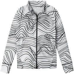 Reima Viivana Sweater Kids, biały/czarny 128 2021 Kurtki codzienne