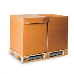 Karton paletowy, tektura 5-warstwowa, 800x600x400 mm