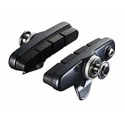 Shimano R55C3 Cartridge Brake Shoes for Ultegra BR-6700, silver 2020 Klocki hamulcowe Przy złożeniu zamówienia do godziny 16 ( od Pon. do Pt., wszystkie metody płatności z wyjątkiem przelewu bankowego), wysyłka odbędzie się tego samego dnia.