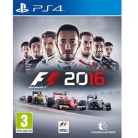 Gry na PS4, F1 2016 (PS4)