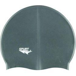Czepek silikonowy SPURT G107 Jednokolorowy Szary