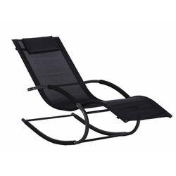 Leżak ogrodowy leżanka fotel bujany Goodhome darmowa dostawa