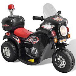 vidaXL Motocykl zasilany na baterię (czarny) Darmowa wysyłka i zwroty