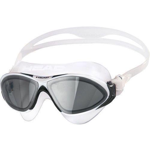 Maski, płetwy i fajki, Head Horizon Maska, clear/white/black/smoked 2019 Okulary do pływania