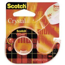 Taśma klejąca 3M Scotch Crystal 19mmx7,5m transparentna 6-1975