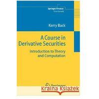 Książki o biznesie i ekonomii, Course in Derivative Securities