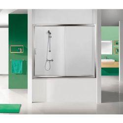 SANPLAST drzwi nawannowe TX5 130 wnękowe szkło CR (parawan) D2-W/TX5b-130 600-271-1530-38-371