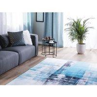 Dywany, Dywan niebieski 160 x 230 cm krótkowłosy TRABZON