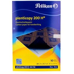 Kalka ołówkowa A4 niebieska Pelikan (10) 200H