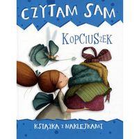 Książki dla dzieci, Czytam sam. Kopciuszek. Książka z naklejkami - Praca zbiorowa (opr. broszurowa)