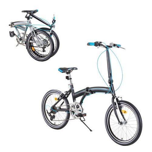 """Pozostałe rowery, Rower składany DHS Folder 2095 20"""" - model 2019, Szary"""