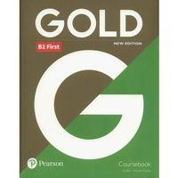 Książki do nauki języka, Gold B2 First Coursebook - Bell Jan, Thomas Amanda (opr. broszurowa)