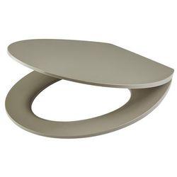 Deska WC Changi z duroplastu wolnoopadająca taupe