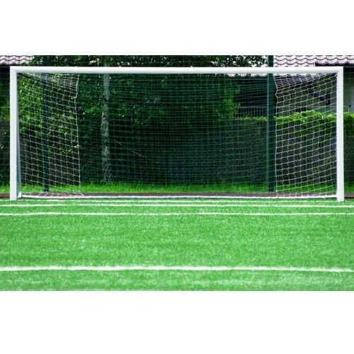 Piłka nożna, Profesjonalna bramka piłkarska boiskowa ALU 5m x 2m rury 120 mm + SIATKA