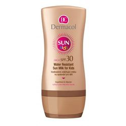 Dermacol Sun Water Resistant wodoodporne mleczko do opalania SPF 30 (Water Resistant Sun Milk for Kids) 200 ml