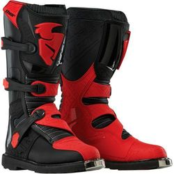 THOR BUTY YOUTH BLITZ S6 OFFROAD BLACK/RED =$