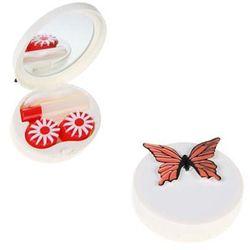 Zestaw podróżny do soczewek motyl