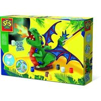 Pozostałe zabawki, Zrób odlew i pomaluj - Smok Dragon