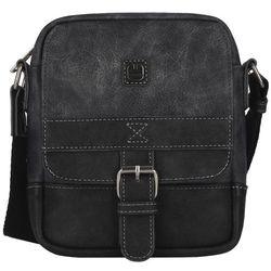 Gabol Flat 533801_001 mała torba na ramię / czarna - Black