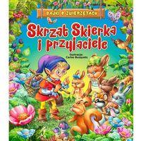 Książki dla dzieci, Świąteczny prezent. Skrzat Skierka i przyjaciele - Praca zbiorowa (opr. twarda)