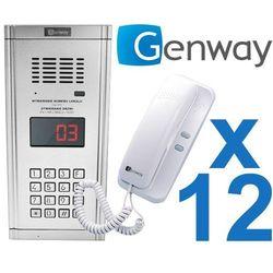 Zestaw domofonowy 12 rodzinny WL-03NL