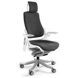 Fotel WAU biały - 18 KOLORÓW (Tkanina BL) - ZŁAP RABAT NIESPODZIANKA