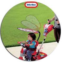 Rowerki trójkołowe, Little Tikes Sterowany Rączką Rowerek trójkołowy 4w1 Gumowe Ciche Koła