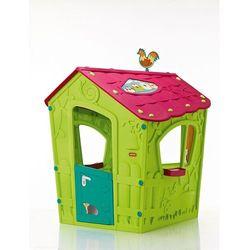 Mały domek dla dzieci Keter Magic Playhouse jasnozielony - Transport GRATIS!