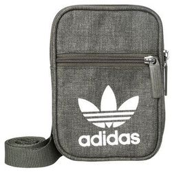 adidas Originals FEST BAG CASUAL Torba na ramię dark green