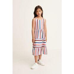 Mango Kids - Sukienka dziecięca Estiu 110-164 cm