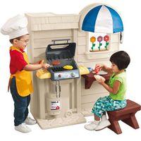 Kuchnie dla dzieci, LT Kuchnia Kącik Kuchenny z grilem Darmowa wysyłka i zwroty