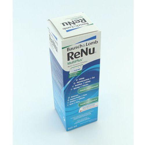 Płyny pielęgnacyjne do soczewek, ReNu MultiPlus 360 ml