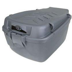 Kufer na bagażnik CARGO duży srebrny-uchwyty srebrne