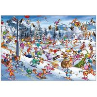 Puzzle, Ruyer, Święta na Stoku - puzzle, 1000 elementów - Piatnik