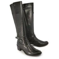 CAPRICE 25545-23 022 black nappa, kozaki damskie