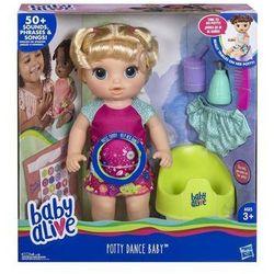Hasbro Baby Alive Potty Dance Baby -Blonde Straight Hair-