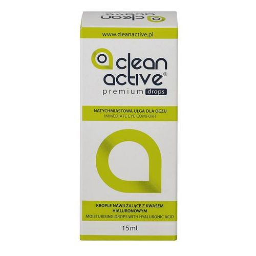 Krople do oczu, Clean Active Premium Drops 15 ml