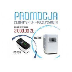 Klimatyzator przenośny Fral Super Cool FSC 09 C + gratisowy pulsoksymetr DS-105 - na 20-25 m2 - PROMOCJA