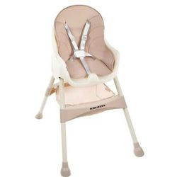 Krzesełko do karmienia 3w1 różowe Taca Fotelik