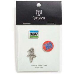 znaczek BRIXTON - Nobel Pin Pack Multi (MULTI) rozmiar: OS