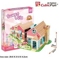 Domki dla lalek, Puzzle 3D Domek dla Lalek 84 elementy