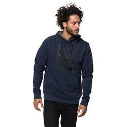 Męska bluza z kapturem 365 HOODY M night blue - L