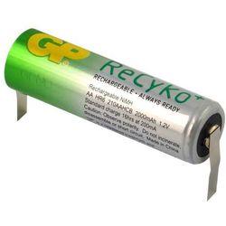 1 x GP ReCyko+ R6/AA 2000mAh z przygrzanymi blaszkami typ:U