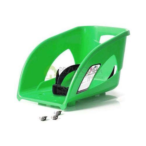 Kaski, gogle i ochraniacze dla dzieci, Oparcie SEAT1 siodełko do sanek BULLET zielone