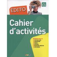 Książki do nauki języka, Edito C1 Cahier d'activities - Pinson Cécile, Heu Elodie (opr. miękka)