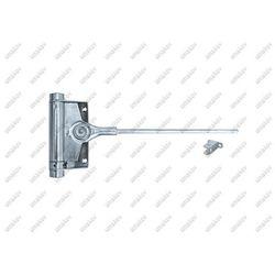 Pružinový samozatvárač dverí Zn, H125mm, L235mm