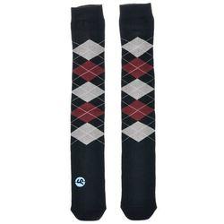 podkolanówki SOCK YOU - F*Cking Basic Dark Blue/Red/Grey C (000) rozmiar: OS