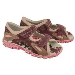 BARTEK 69157-1CI fioletowo-różowy, sandałki dziecięce, rozmiary 33-38 - Fioletowy