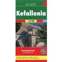 Mapy i atlasy turystyczne, Kefalonia mapa 1:50 000 Freytag & Berndt (opr. twarda)