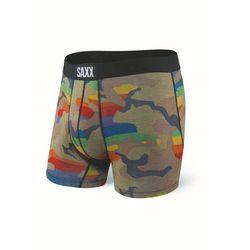 Bokserki męskie SAXX Vibe Boxer Brief Rainbow Supersized Camo
